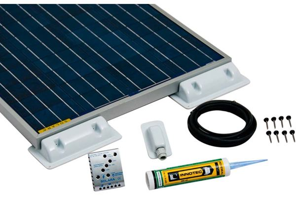 "Image of   Solcelle Solara ""Starter-Pack"" SP520 520 wh/d - 130wp."