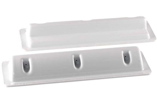 Monteringsspoiler til solcelle 35 cm. sæt á 2 stk