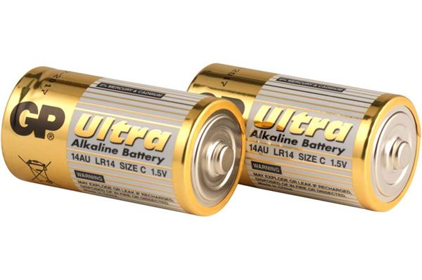 Image of   Batteri LR14/C 1,5 Volt 2 stk.