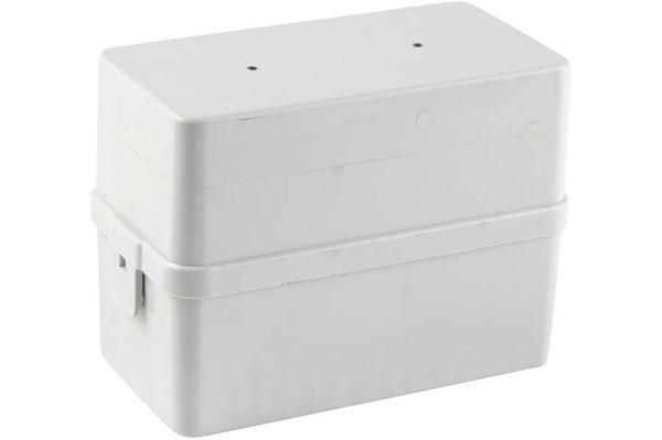 Image of   Batterikasse lys grå 1m kabel