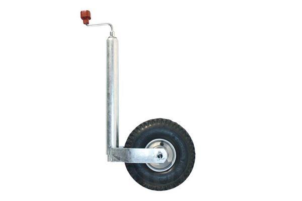 """Næsehjul med metalfælg  """"ALKO Premium"""" med lufthjul og metalfælg"""
