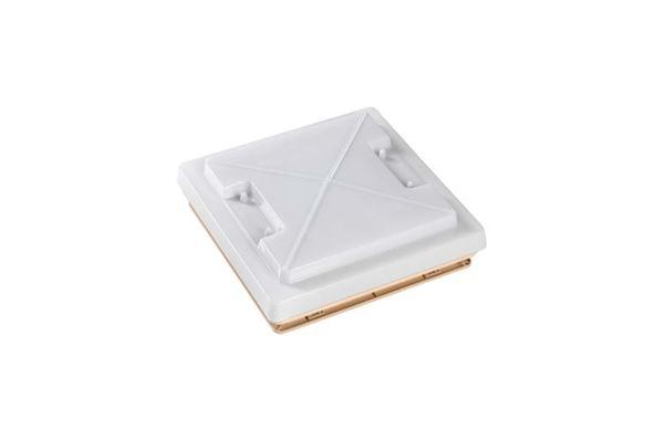 """Tagluge """"MPK"""" 280 x 280 mm med myggenet,beige ramme"""