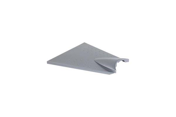 Dækplade til træk AL-KO sølvgrå, 750 mm., 150v/200