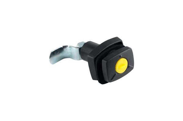 Gaskasselås uden låsecylinder sort system ff zwo