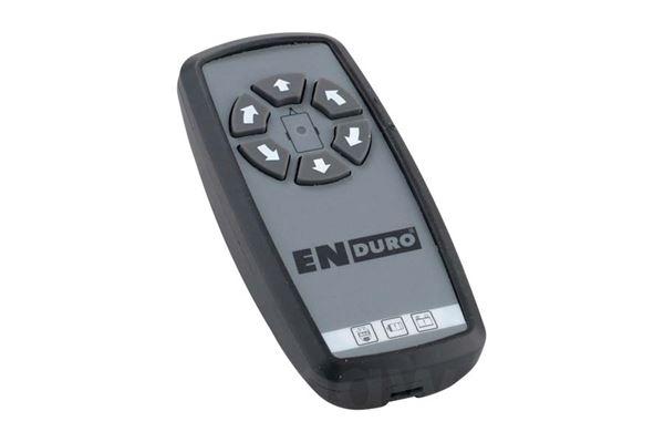 Fjernbetjening til Enduro ECO II em303, ny model, sort kabinet
