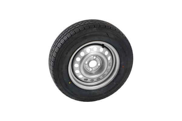 Reservehjul 5 1/2J x 14 195/70R14 fælg 821080 4-huls