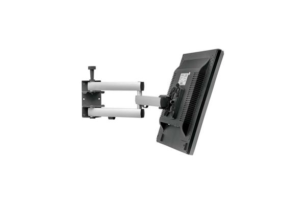 """Image of   Beslag til fladskærm """"SKY 10N"""" 350x350 med dobbelt arm og lås til skærm."""