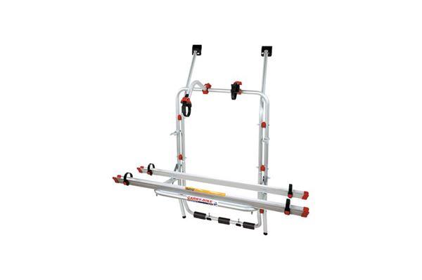 Cykelholder Fiamma 2-cykler vw t4 med bagklap