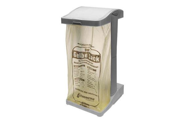 Affaldsstativ, søjlemodel foldbart
