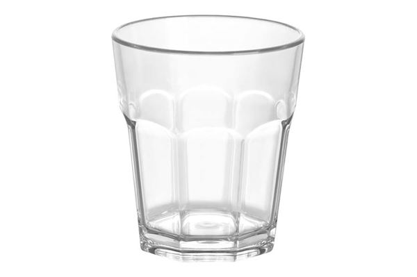 """Drikkeglas 18 cl. """"Gimex"""" polycarbonate, sæt med 4 stk."""