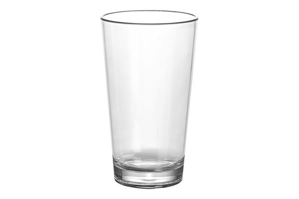 """Drikkeglas 35 cl. """"GimexLatte Macchiato"""" polycarbonate, sæt med 2 stk."""