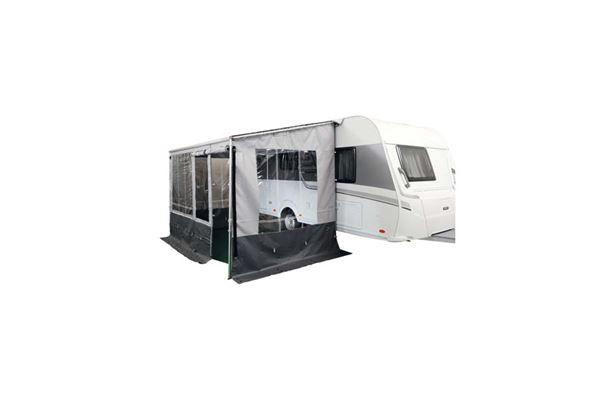 """Image of   Front med dør til posemarkise """"Wecamp"""" passer til caravanstore 310"""