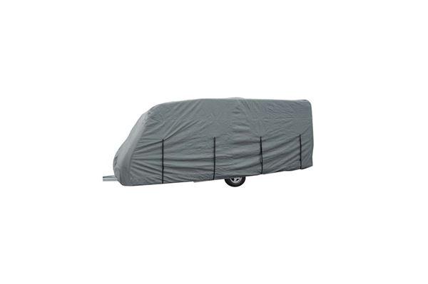 """Overtræk til campingvogn """"Wecamp"""" mål: 520 x 250 x 225 cm. (medium)"""