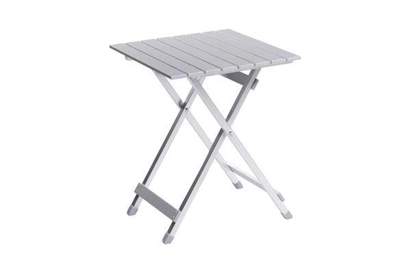 Klapbord aluminium 50 x 50 cm.