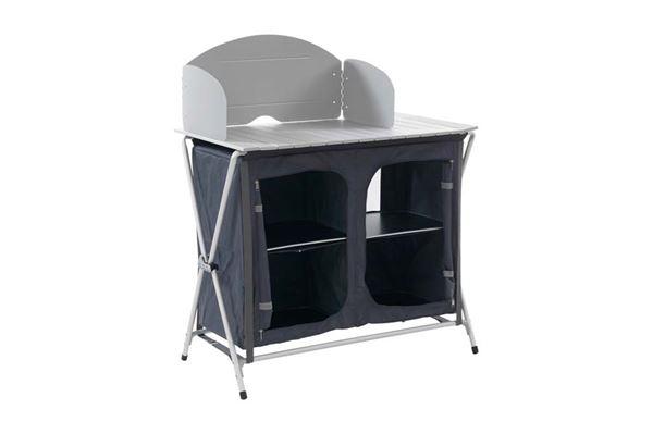 """Køkkenbord """"Wecamp"""" med 4 hylder"""
