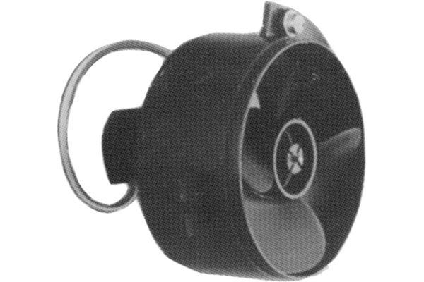 Image of   12 V støjdæmpet ventilator til bl.a. varmluftsanlæg og emhætte