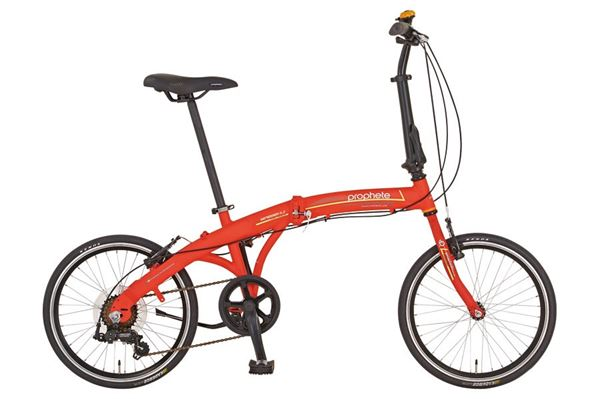 "Image of   20"" aluminiums foldecykel, Alu-City, 7 gear."
