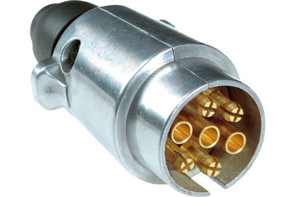 Image of   7-polet stikprop, sølv/metal