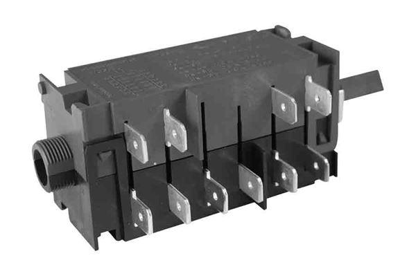 Afbryder 5P P/E, passer til model N80, N90, N112, N100E og N145E