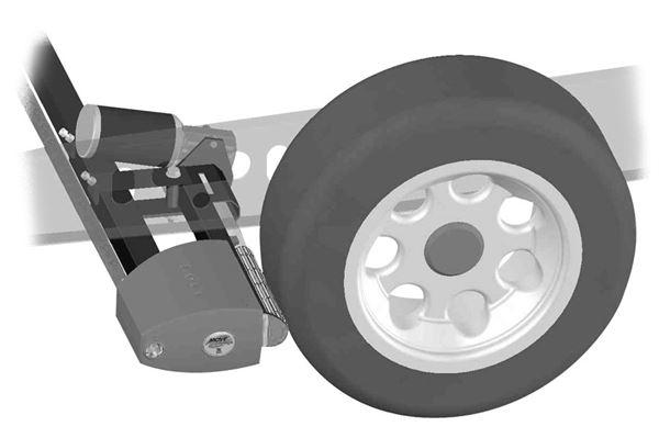 Afdækning til drivhjul for Reich Comfort mover
