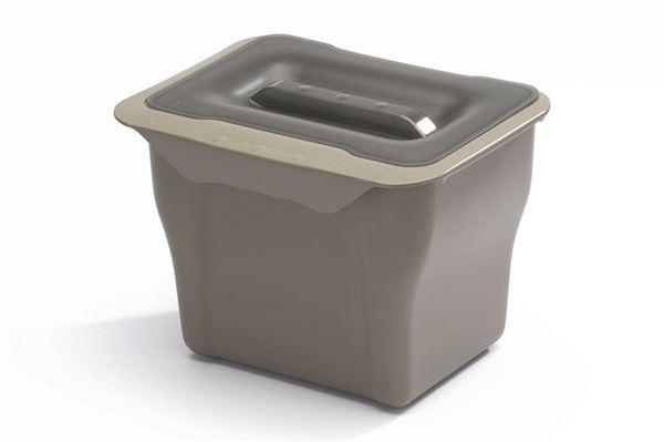 Affaldsspand til låge eller skuffe, 5 liter
