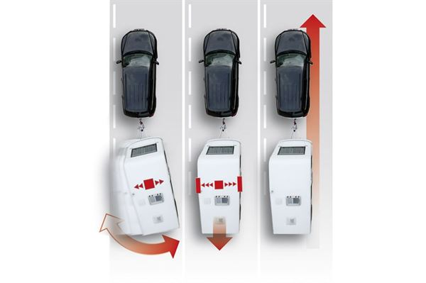 AL-KO ATC trailer kontrol til Hobby caravans med enkel aksel