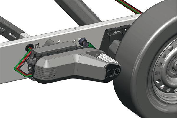 AL-KO Mammut mover - til AL-KO chassis fremstillet før 2009