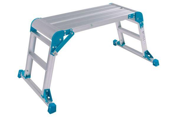 Arbejdsplatform - God ståflade og en halv meter ekstra i højden