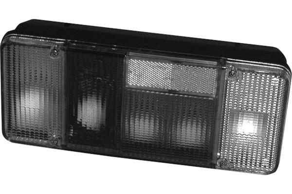 Image of   Baglygteglas, højre, 300 x 130 mm