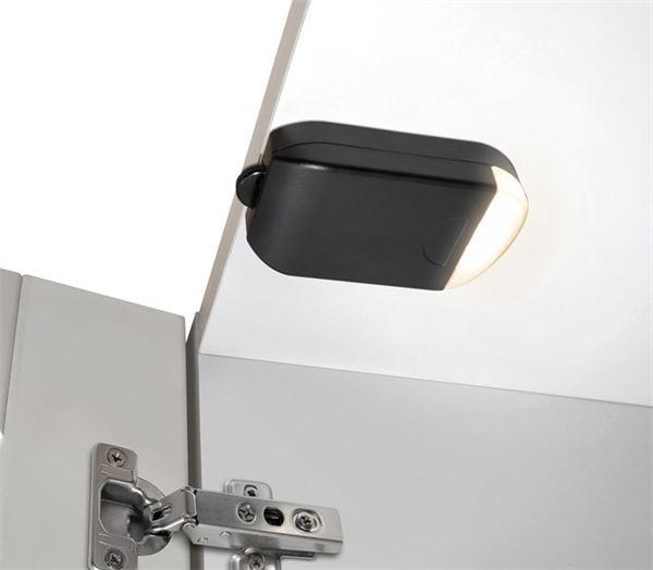 Image of   Batteridrevet LED garderobelampe.