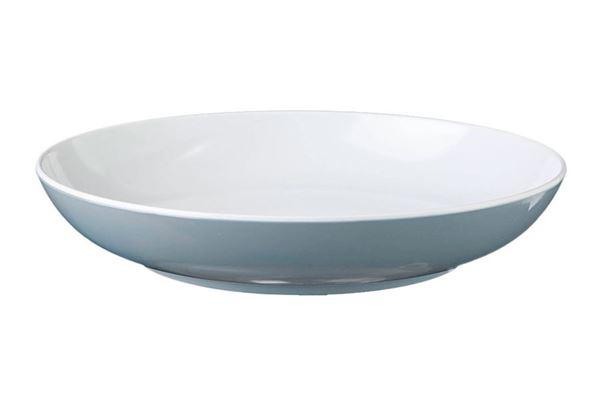 Image of   Blå Spectrum dyb tallerken, grå