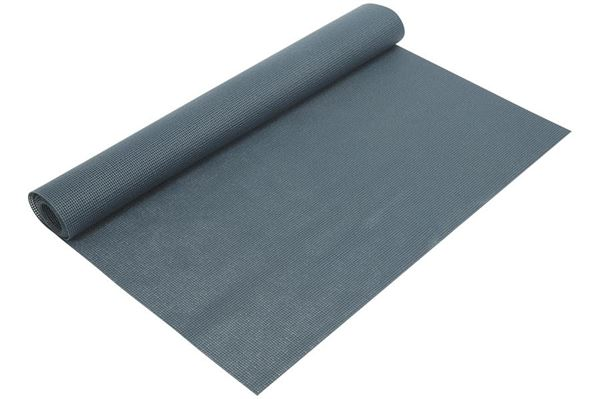 Blåt gulvtæppe i metermål