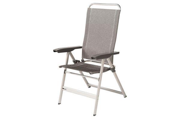 Dukdalf høj stol, lysegrå.