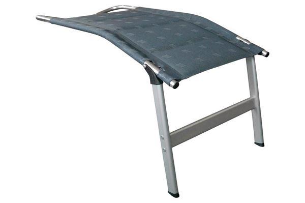 Dukdalf polstret fodstøtte, grå