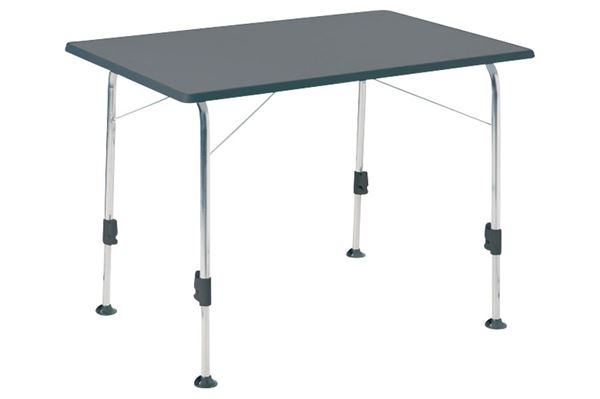 Dukdalf Stabilic campingbord 100 x 68 cm, antrasit
