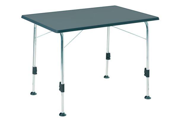 Dukdalf Stabilic campingbord 115 x 70 cm, antrasit.