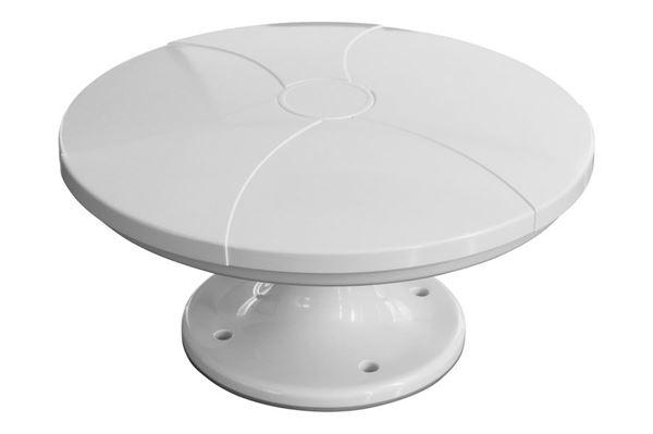 DVB-T/T2 antenne for optimeret VHF/UHF modtagelse, ikke retningsbestemt