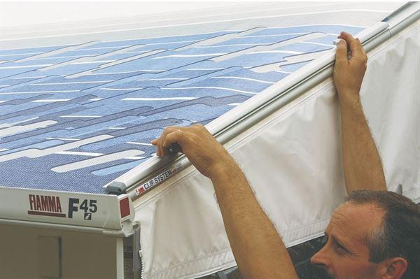 Fiamma Clip System monteringsbeslag og stænger til F45i