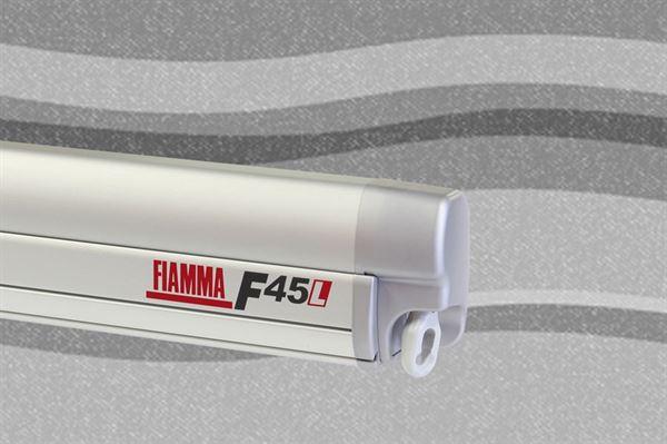 Fiamma F45 L markise, Deluxe Grey, titanium boks