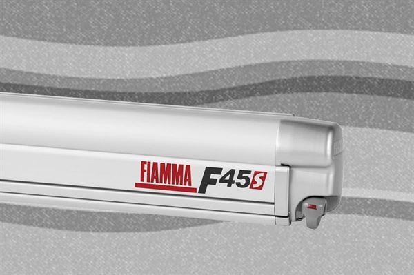 Fiamma F45 S markise, Deluxe Grey, titanium boks