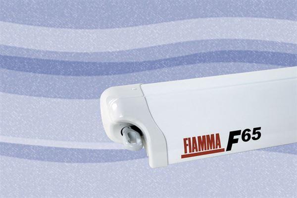 Fiamma F65 markise, Blue Ocean, hvid boks