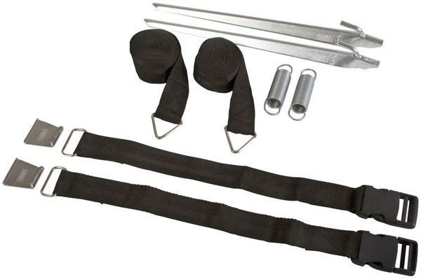 Fiamma Tie-down kit, sort