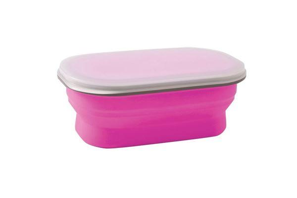 Foldbar snack boks 0,6 liter