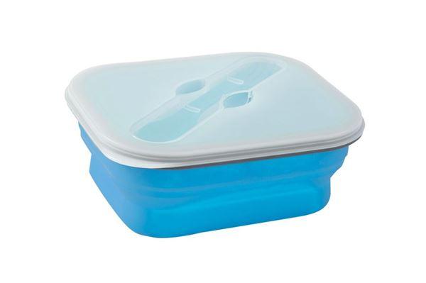 Foldbar snack boks 1,0 liter