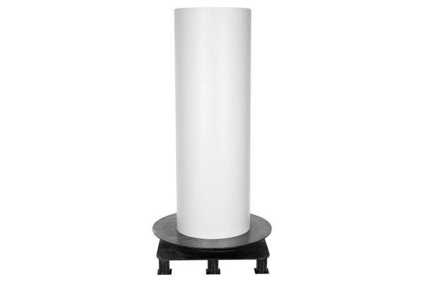 Image of   Glat alutagplade, hvid, 2500 x 0,7 mm