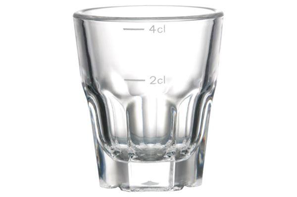 Granity snapseglas sæt - ligner et helt almindeligt glas