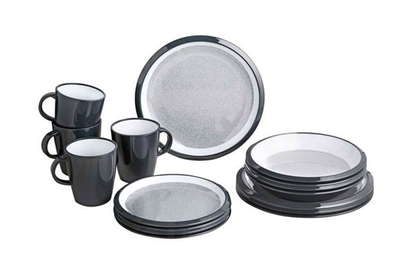 Image of   Granyte Lunch Box servicesæt, 16 dele