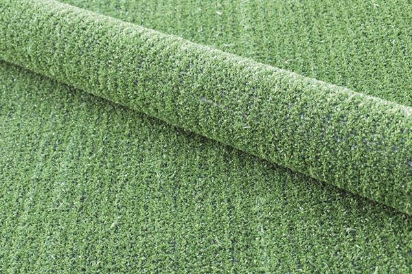 Grønt græstæppe