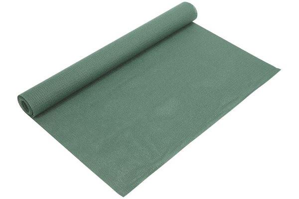 Grønt gulvtæppe i metermål