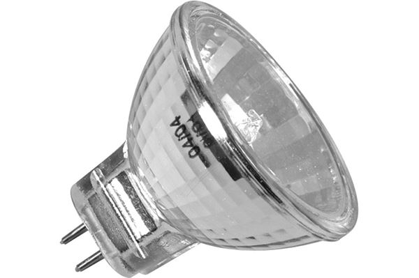 Halogen pære 12 V, 10 watt, GZ 4, Ø 35 mm
